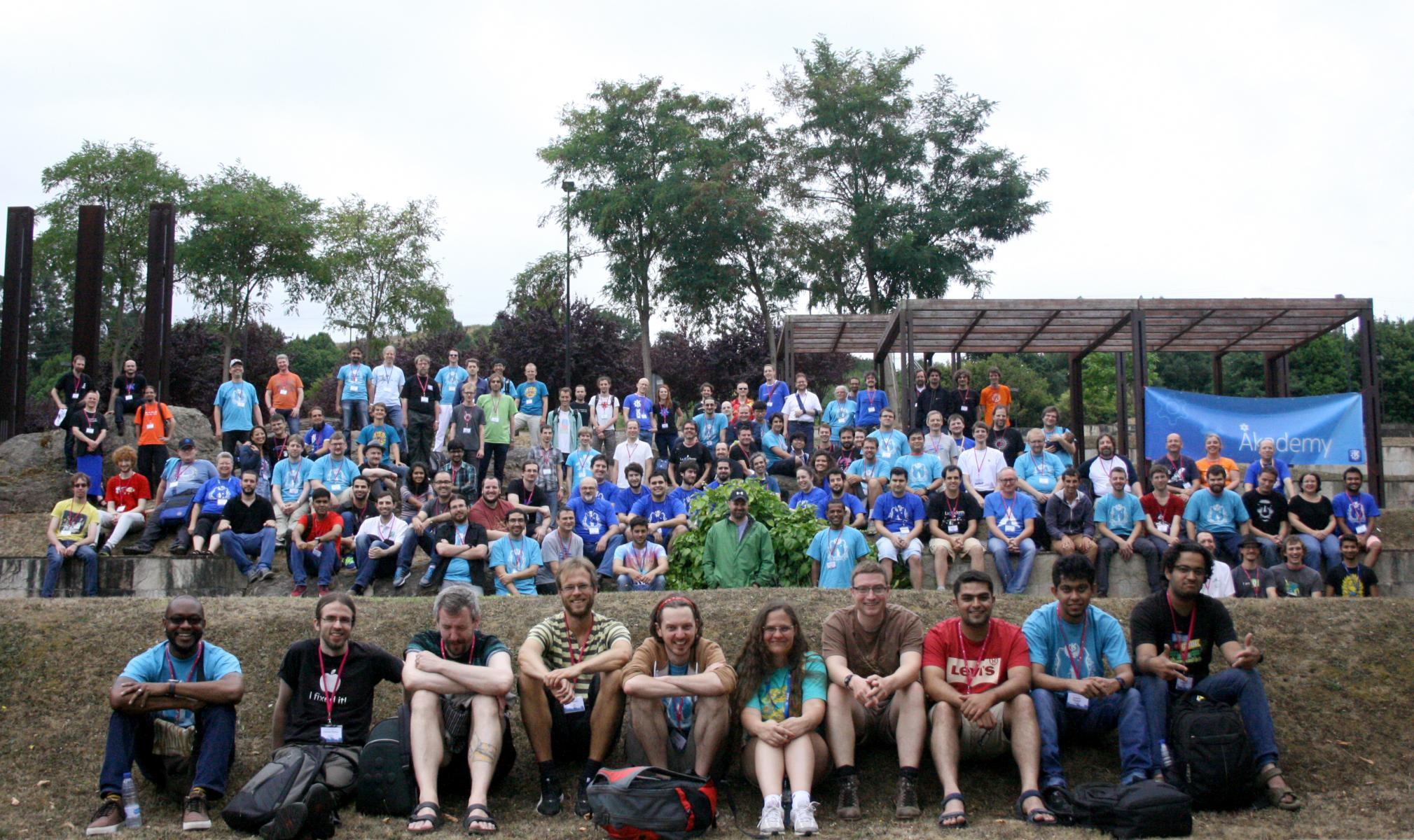 Akademy 2015 group photo
